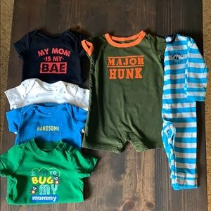 #94 🌺 Bundle of boy 6 month clothes